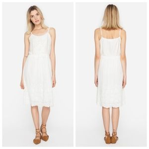 Johnny Was City Lights embroidered eyelet dress